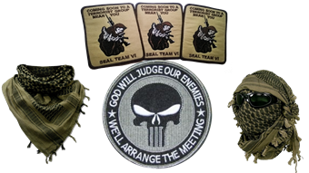 Militaria, Patches mm