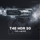 Revolver CO2 Walther T4E HDR 50 Home Defense Revolver, Paintball markör