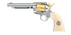 "Colt SAA.45 - 5,5"", Gold Edition, 4,5mm Diabol, Co2 Luftpistol"