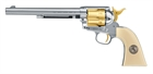 "Colt SAA.45 - 7,5"", Gold Edition, 4,5mm Diabol, Co2 Luftpistol"